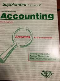 introduction to accounting for finance alastair matchett