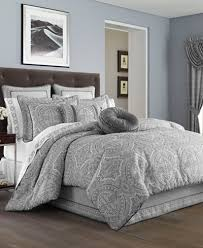 J Queen Bedding J Queen New York Colette Silver Bedding Collection Bedding