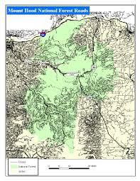Opal Creek Oregon Map Mount Hood Highway Wyeast Blog Mt Hood Area Hiking Riding