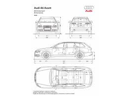dimension audi a6 2009 audi a6 avant dimensions 1920x1440 wallpaper
