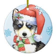 great gifts for siberian husky ornaments