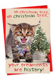 ornaments are history petigreet greeting card
