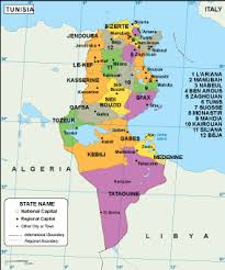tunisia on africa map africa country maps vector wall maps made in barcelona from