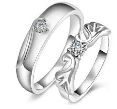 rings jewelry love images Wedding couple rings for men and women 1 pair 2pcs love 925 png