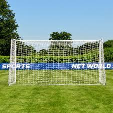 forza 12x6 alu60 soccer goal net world sports