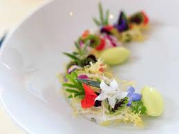 edible flower garnish mandarin s exec chef talks edible flowers lifestyleasia