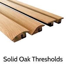 solid oak threshold door bar trims for wood flooring r t