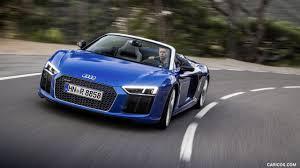 audi r8 wallpaper blue 2017 audi r8 v10 spyder color ara blue front hd wallpaper 67