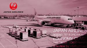 Japan Airlines Route Map by Jal Japan Airlines Jl65 San Nrt Airliners Net