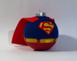 personalized superman ornament