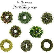 fresh christmas wreaths christmas decorating fresh wreaths emily a clark
