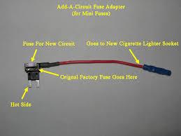 Seeking Fuse Add A Fuse Box Free Wiring Diagrams Schematics