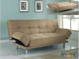 futon with armrests
