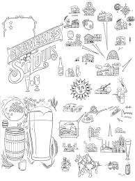 Stl Map Zettwoch U0027s Suitcase Breweries Of St Louis