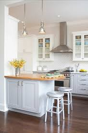 Light Blue Kitchen Backsplash by Best 25 Two Toned Kitchen Ideas Only On Pinterest Two Tone