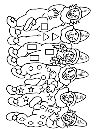 clown coloring pages coloring pages print