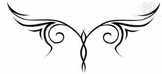 lower back tribal design