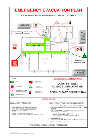 emergency exit floor plan signs emergency evacuation floor plan