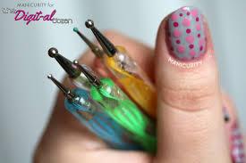 nail art using dotting tool nail art designs