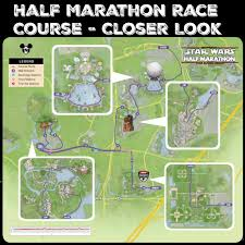 Epcot World Showcase Map The Dark Side Race Maps Star Wars Half Marathon Kessel Runnerthe
