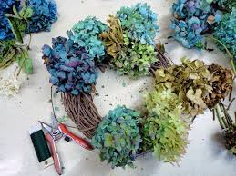 hydrangea wreath wshg net how to make your own hydrangea wreath at home