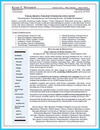 Resume Sample Key Competencies by Artist Resume Template That Look Professional