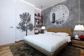 Masculine Bedroom Ideas Design Inspirations Photos And Styles - Cool ideas for bedroom walls