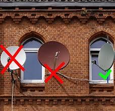 satellitensch ssel f r balkon allegra satellitenschüssel halterung für balkon und fenster 25