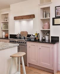 John Lewis Kitchen Design Shaker Kitchen By John Lewis Of Hungerford In Their Blossom Pink