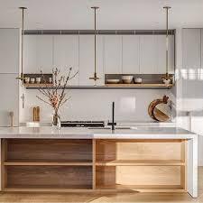 meubles hauts de cuisine étagères ouvertes dans la cuisine 53 idées photos