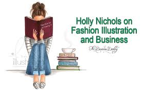 the business darling holly nichols on the fashion illustration