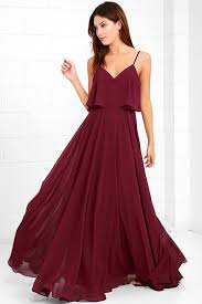 burgundy dress for wedding pin by jeca abella on dress burgundy maxi dress