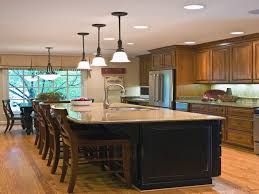 Kitchen Island With Built In Seating Kitchen Island With Bench Seating Hgtv Kitchen Ideas Island