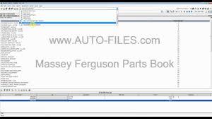 massey ferguson 2013 north america u0026 europe parts catalog