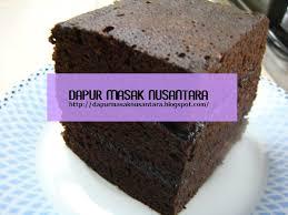 cara membuat brownies kukus simple resep cara membuat brownies kukus enak dan mudah dapur masak nusantara