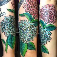 hydrangea tattoo 22