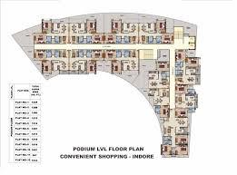 podium floor plan ansal housing