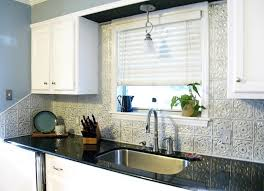 kitchen backsplash tin black and white kitchen contemporary kitchen ta by