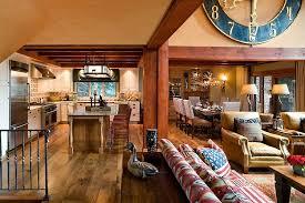 mountain home interior designs retreat by eberlein design