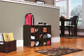 Closet Shoe Organizer Amazon Com Closetmaid 8983 Stackable 15 Cube Organizer White