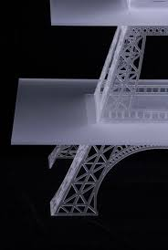 eiffel tower cake stand buy a handmade 43 laser cut acrylic cupcake stand made to order