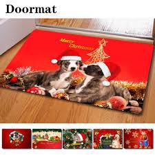 Rubber Cal Wipe Your Paws Target Christmas Doormat U0026 Resting Rider Red Monogrammed Door Mat