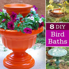 Flower Pot Bird Bath - 323 best bird baths images on pinterest gardens bird baths and