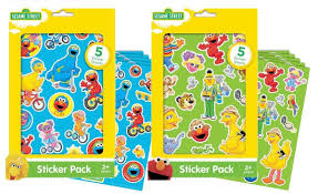elmo christmas wrapping paper sesame sticker packs 10 sheets total featuring elmo big