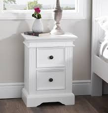 Already Assembled Bedroom Furniture by Gainsborough White Bedroom Furniture Bedside Cabinets Chest Of