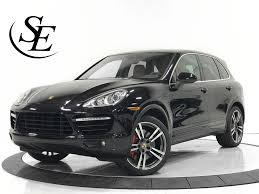 porsche cayenne black 2014 porsche cayenne turbo awd 4dr suv stock for sale near