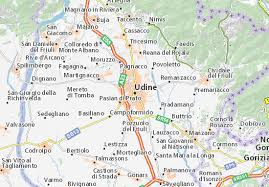 udine italy map map of udine michelin udine map viamichelin