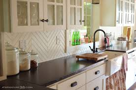 cool kitchen backsplash kitchen cool kitchen backsplash ideas diy herringbone