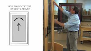 Anderson Patio Screen Door by How To Adjust A Frenchwood Inswing Patio Door Made Before 2005