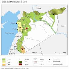 Syria World Map by The Alawi Community And The Syria Crisis Middle East Institute